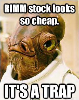 Stock Value Trap Ackbar